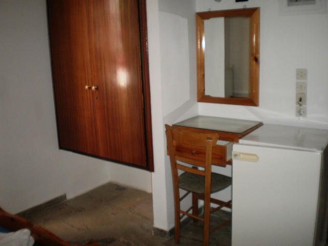 hoteldrosia wardrobe and fridge